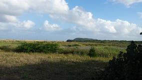 Südafrikanische Landschaft mit einem See Lizenzfreie Stockfotografie
