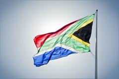Südafrikanische Markierungsfahne Lizenzfreies Stockfoto