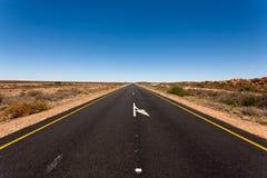 Südafrikanische Straße Lizenzfreie Stockfotos