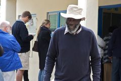 Südafrikanische Wahlen 2009 lizenzfreies stockbild