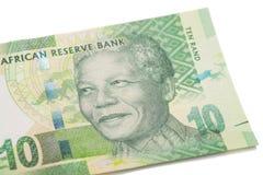 Südafrikanischer Rand zehn lizenzfreie stockfotos