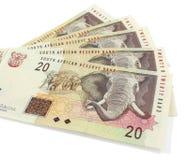 Südafrikanisches Bargeld Stockbilder