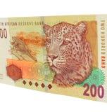 Südafrikanisches Bargeld Stockbild