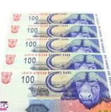 Südafrikanisches Bargeld Stockfoto