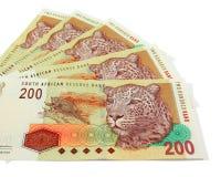 Südafrikanisches Bargeld Stockfotos