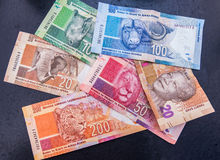Südafrikanisches Geld Stockfotografie