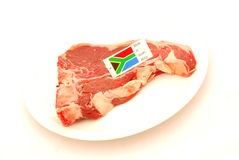 Südafrikanisches Knochensteak lizenzfreie stockfotos