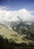 Südalbanien-Berge Balkan Stockfotos