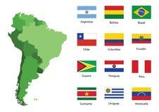 Südamerika Stockfoto