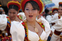 Südamerika - Bolivien, Sucre-Fiesta Lizenzfreies Stockbild