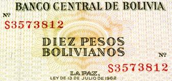 Südamerika-currancy Banknote Lizenzfreie Stockfotos