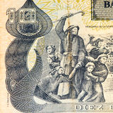 Südamerika-currancy Banknote Stockfotos