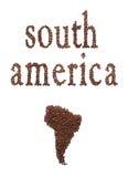 Südamerika und Kaffee Stockfotos