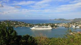 Südamerika und Karibische Meere 2017 lizenzfreies stockfoto