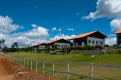Südamerikanische Häuser Stockfotos