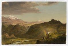 Südamerikanische Landschaft Lizenzfreies Stockfoto