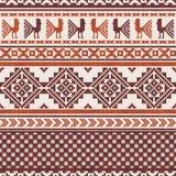 Südamerikanisches Gewebe Ornamentalmuster vektor abbildung