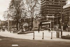 Südansicht des Redevelop Stadtzentrums in Bristol Stockfotografie