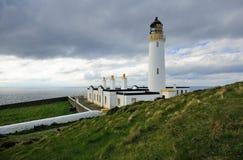 Südansicht, verrühren vom Galloway-Leuchtturm lizenzfreie stockbilder
