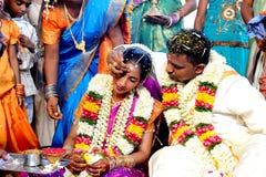 Südasiatische Hochzeit Stockfoto