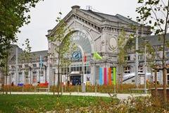 Südbahnhof in Charleroi belgien Lizenzfreies Stockfoto