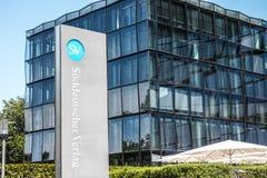 """Süddeutscher Verlag. Headquarter of the german publisher """"Süddeutscher Verlag Stock Image"""