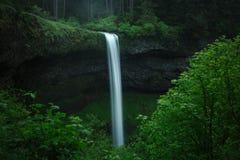 Südfallwasserfall am silbernen Fall-Nationalpark stockfoto