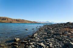 Südinsel Neuseeland See Tekapo Lizenzfreie Stockbilder