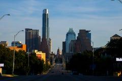 Südkongress-Allee Austin Texas State Capitol View Stockfotos