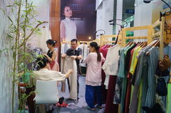 Südkoreanische Kleidungsverkäufe Lizenzfreies Stockfoto