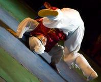 Südkoreanischer Tänzer stockbild