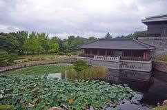 Südkoreanischer Tempel Lizenzfreie Stockfotos