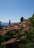 Südlich Frankreichs = Menton Stockbild