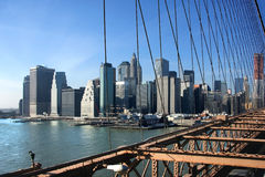 Südlich von Manhattan Stockbild