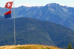 Südliche Alpen stockfotografie