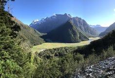 Südliche Alpen Neuseelands - Südinsel lizenzfreies stockfoto
