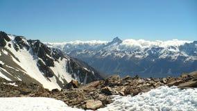 Südliche Alpen panoramisch Lizenzfreies Stockbild