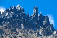 Südliche Anden-Strecke Cerro Castillo in Chile lizenzfreie stockfotos