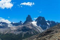Südliche Anden-Strecke Cerro Castillo in Chile lizenzfreies stockbild