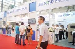 2016 südliche China internationale industrielle Automatisierungs-Ausstellungseröffnung Lizenzfreie Stockbilder