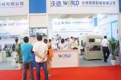 2016 südliche China internationale industrielle Automatisierungs-Ausstellungseröffnung Lizenzfreies Stockbild