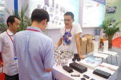 2016 südliche China internationale industrielle Automatisierungs-Ausstellungseröffnung Stockfotografie
