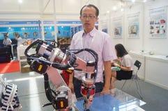 2016 südliche China internationale industrielle Automatisierungs-Ausstellungseröffnung Lizenzfreies Stockfoto
