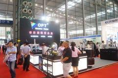 2016 südliche China internationale industrielle Automatisierungs-Ausstellungseröffnung Lizenzfreie Stockfotografie