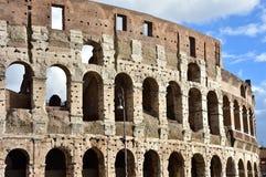 Südliche Fassade Rom-Kolosseums Lizenzfreies Stockbild