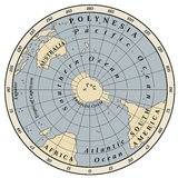 Südliche Hemisphäre Stockfoto