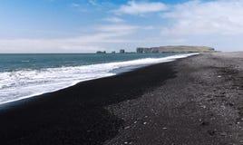 Südliche Küste von Island stockbilder