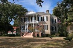 Südliche Villa stockbild