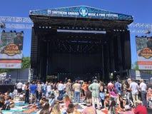 Südlicher Boden Festival, Daniel Island, South Carolina lizenzfreie stockfotografie
