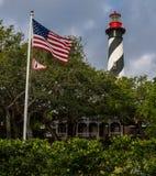 Südlicher Charme-Leuchtturm lizenzfreies stockbild